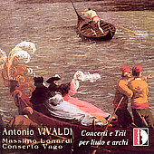 Vivaldi: Concerti e Trii per Liuto e Archi / Lonardi