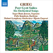 Grieg: Peer Gynt Suites, etc / Engeset, Dam-Jensen, Knudsen, Malm&ouml; Symphony