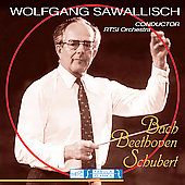 Wolfgang Sawallisch Collection - Bach: Brandenburg Concerto no 5; Beethoven; Schubert