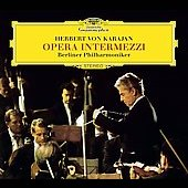 Opera Intermezzi / Herbert von Karajan, Berlin PO