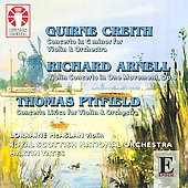 Epoch - Creith, Arnell and Pitfield: Violin Concerti / Yates, McAslan, et al