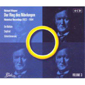 Wagner: Der Ring Des Nibelungen - Historical Recordings 1922-1954 Vol 3