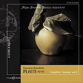 Platti: Complete Keyboard Sonatas Vol 1 / Filippo Emanuele Ravizza