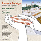 Rodrigo: Aideas de Espana;  Grieg, Houghton, Walton, etc / Joe Sakimoto, Fujie Sugata