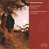 Schumann: Works for Violin and Piano / Irnberger, Demus
