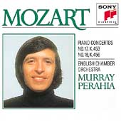Mozart: Piano Concertos nos 17, 18 / Perahia, English CO