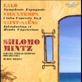 Lalo: Symphony Espagnole / Zubin Mehta, Shlomo Mintz