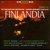 Sibelius: Finlandia; Valse Triste; The Swan of Tuonela; En Saga; Grieg: Peer Gynt Suite No. 1; Alfven: Swedish Rhapsody No. 1;  / Ormandy