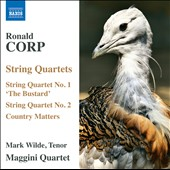 Ronald Corp: String Quartets / Maggini Qrt.