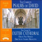 The Complete Psalms of David, Series 2 Vol. 1 / Choir of Exeter Cathedral