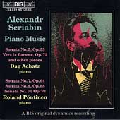 Scriabin: Piano Music / Dag Achatz, Roland P&#246;ntinen