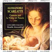 Scarlatti: Cantate per la Notte di Natale / Alessandrini