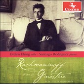 Rachmaninoff and Ginastera for Cello and Piano / Evelyn Elsing, cello; Santiago Rodriguez, piano