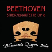 Beethoven: String Quartets, Op. 18/1-6 / Philharmonia Quartett Berlin