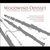 Music for winds by Sydney Hodkinson (b.1934): 'Woodwind Odyssey' / Veritate Winds