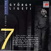 Gy&ouml;rgy Ligeti Edition Vol 7 - Chamber Music / Aimard et al