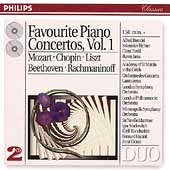Favourite Piano Concertos Vol 1 - Mozart, Chopin, Liszt, etc