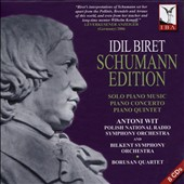 Idit Biret Schumann Edition: Solo Piano Music, Piano Quintet, & Music for Piano & Orchestra / Idil Biret, piano; Polish Nat'l RSO; Bilkent SO; Wit