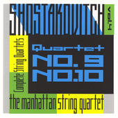 Shostakovich: String Quartets Vol 4 / Manhattan Quartet