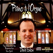 Piano à l'Orgue: Organ Transcriptions of Piano Works by Debussy, Grieg and Schumann / David Enlow, organ