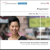 Playtime! - works by Bongartz, Reich, Ferneyhough et al. / Sabrina Ma, percussion; Rilli Willow, voice; Olga Aheltikova, harpsichord; Jan Schower, electric guitar