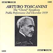 Beethoven: Symphony no 9 / Toscanini, NBC SO, et al