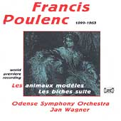 Poulenc: Les animaux mod&#232;les, Les biches / Wagner, Odense SO