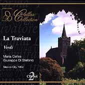 Callas Collection - Verdi: La traviata / Di Stefano, et al