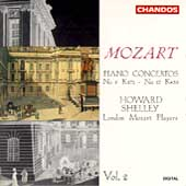 Mozart: Piano Concertos Vol 2 - nos 9 & 17 / Howard Shelley