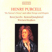Purcell: Tis Nature's Voice, Songs, Elegies / Jacobs, et al