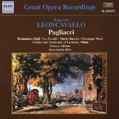 Great Opera Recordings - Leoncavallo: Pagliacci / Ghione