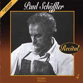 Golden - Unforgettable Opera Voices Vol 4 - Paul Schoffler