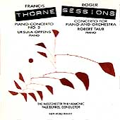 Thorne, Sessions: Piano Concertos / Oppens, Taub, Dunkel