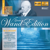 Günther Wand Edition - Mozart: Serenade in D major, etc