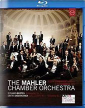 Currentzis Conducts the Mahler Chamber Orchestra: Works of Britten & Shostakovich / Steven Isserlis, cello; Mahler CO; Currentzis [Blu-ray]