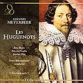 Meyerbeer: Les Huguenots / Maerzendorfer, Gedda, Equiluz