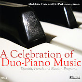 A Celebration of Duo-Piano Music / Forte, Parkinson