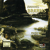 Brahms: String Quartet, etc / Prazák Quartet