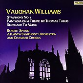 Vaughan Williams: Symphony no 5, etc / Spano, et al