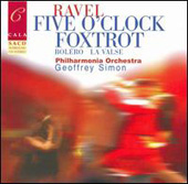 Ravel: Five O'Clock Foxtrot, etc / Simon, et al