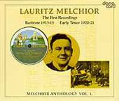 Lauritz Melchior - Anthology Vol. 1