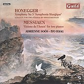 Honegger: Version for Two Pianos by Shostakovich / Adrienne Soos, Ivo Haag, et al