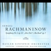 Sergej Rachmaninow: Symphony Nr. 1; Der Fels / Walter Weller