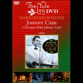 Johnny Cash: Christmas with Johnny Cash/Yule Log [DVD]