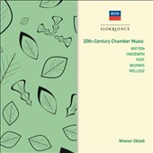 20th Century Chamber Music - works by Britten, Hindemith, Poot, Badings, Wellesz / Vienna Octet