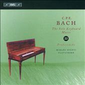 C.P.E. Bach: The Solo Keyboard Music, Vol. 22 / Spanyi