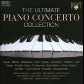 Ultimate Piano Concerto Collection / Ashkenazy, Bolet, Brendel, Freire, Kissin, Ortiz, Firkusny et al. [30 CDs]