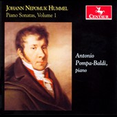 Johann Nepomuk Hummel: Piano Sonatas, Vol. 1 / Antonia Pompa-Baldi