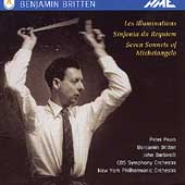 Britten: Les Illuminataions, etc /Barbirolli, Pears, Britten