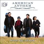 American Anthem - The music of Samuel Barber & Howard Hanson / Ying Quartet